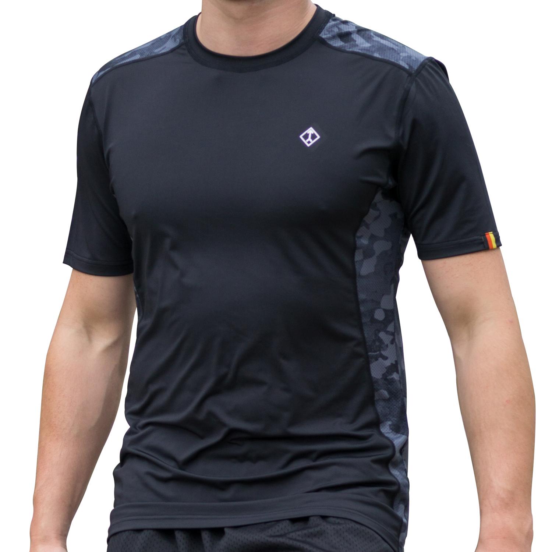 7200 Black Camo Performance Shirt